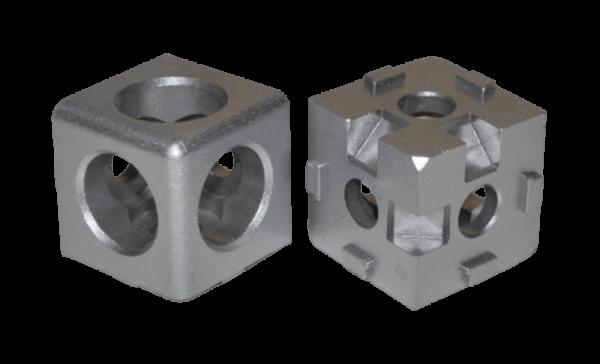 Würfelverbinder 3D I-Typ Nut 8 allein