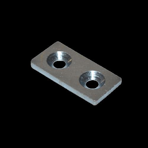 Verbinderplatte Nut 5 20x40 mm