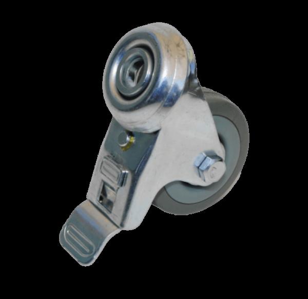 Rolle 50mm mit Bremse